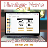 Number Names (Word Form) Google Classroom