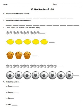 Number Names and Count Sequence: Kindergarten Common Core