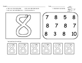 Number Naming, Counting and Number Writing Intervention Pa