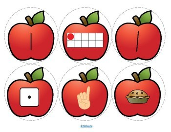 APPLES Number Necklaces