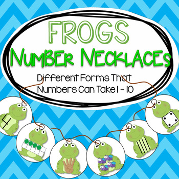 FROGS Number Necklaces