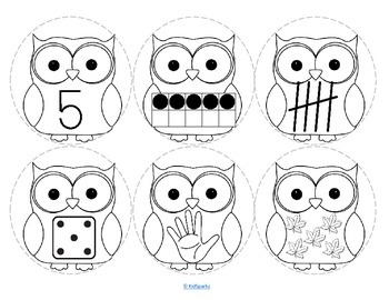 OWLS Number Necklaces