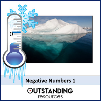 Number: Negatives Numbers 1 - Introduction & 4 Operations (+ LOTS of resources)