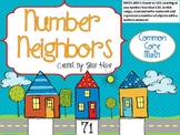 Number Neighbors- Common Core Math Work Station/Center Before After Between