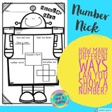 Number Nick - Representing Numbers in Different Ways
