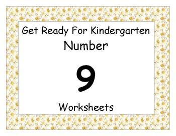 Number Nine Worksheet Pack