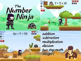 Number Ninja - Basic Math Facts (Playable at RoomRecess.com)