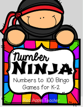 Number Ninja--Bingo Game for Number Recognition to 100