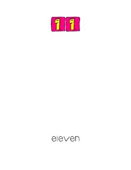 Number Number Numbers My Number Book