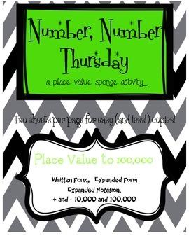 Number, Number Thursday