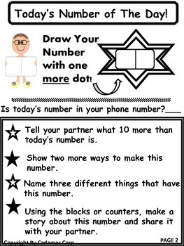Number Of The Day is Number Sense Fun!