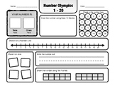 Number Olympics - Number Sense and Place Value 1-20