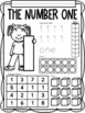 All About the NUMBER ONE ~ NO PREP Number Sense Kindergarten Math Printables