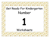 Number One Worksheet Pack
