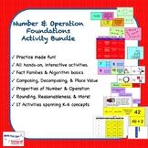 Number & Operation Foundations K-6 Activity Bundle