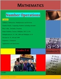 Number Operations (Addition, Subtraction, Multiplication and Division).