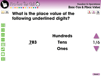 Number & Operations: Base-Ten & Place Value - Practice the Skill 3 -MAC Gr. PK-2