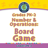 Number & Operations: Board Game - PC Gr. PK-2
