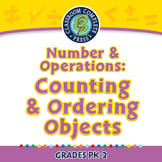 Number & Operations: Counting & Ordering Objects - NOTEBOOK Gr. PK-2