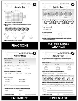 Number & Operations - Drill Sheets Gr. 3-5 - BONUS WORKSHEETS
