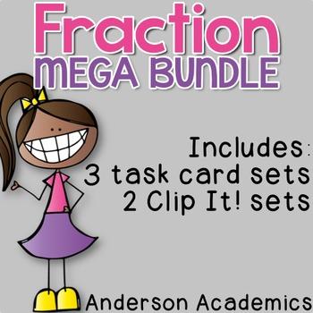 Number & Operations - Fraction Mega Bundle {3.NF}