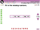 Number & Operations: Grouping Objects & Number Lines - Practice 1 - PC Gr. PK-2