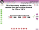 Number & Operations: Grouping Objects & Number Lines - Practice 3 - PC Gr. PK-2