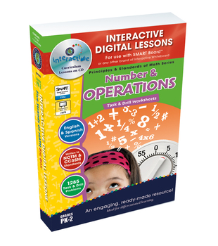 Number & Operations - NOTEBOOK Gr. PK-2