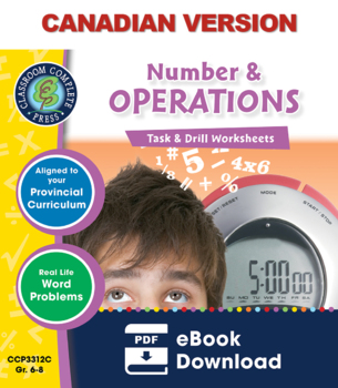 Number & Operations - Task & Drill Sheets Gr. 6-8 - Canadi