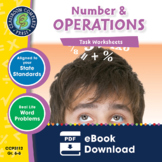 Number & Operations - Task Sheets Gr. 6-8