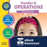 Number & Operations - Task Sheets Gr. PK-2