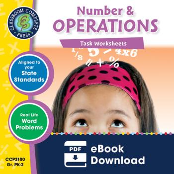 Number & Operations - Task Sheets Gr. PK-2