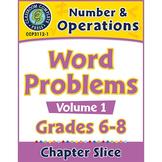 Number & Operations - Task Sheets Vol. 1 Gr. 6-8