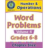 Number & Operations - Task Sheets Vol. 4 Gr. 6-8