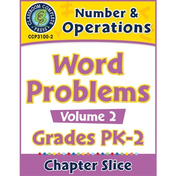 Number & Operations: Word Problems Vol. 2 Gr. PK-2