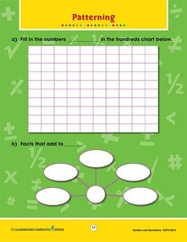 Number & Operations: Word Problems Vol. 3 Gr. PK-2
