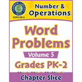 Number & Operations: Word Problems Vol. 5 Gr. PK-2