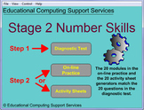 Number Operations for Year 3 and 4 - Diagnostic Tests and Printables