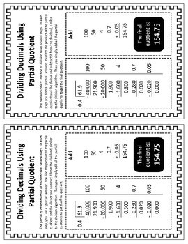 Number & Operations in Base Ten: 5.NBT.7 - Practice Sheets/Aides - Decimals