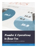 Number & Operations in Base Ten Assessments