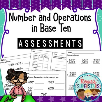 Number and Operations in Base 10 Assessments