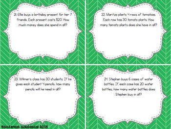 Number & Operations in Base Ten Task Cards {3.NBT}