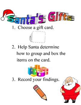 Number Operations with Santa's Gifts