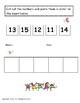 Kindergarten Math: Missing Number, Counting, Number Order 2-Digits Worksheets