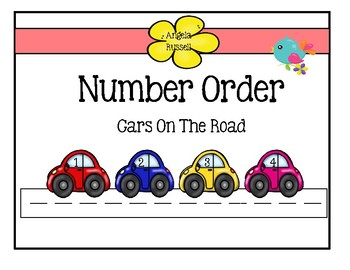 Number Order - Cars On The Road