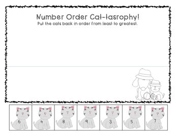 Number Order Cats