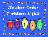 Number Order Christmas Light Center