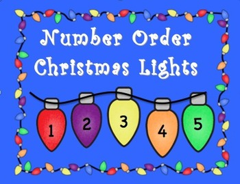 Number Order Christmas Light Center