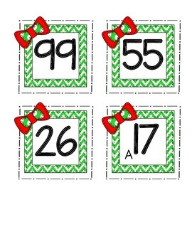 Number Order-Christmas Presents