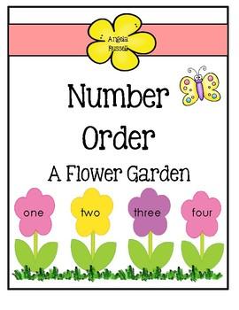 Number Order ~ A Flower Garden